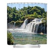 Krka National Park Waterfalls 9 Shower Curtain