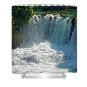 Krka National Park Waterfalls Shower Curtain