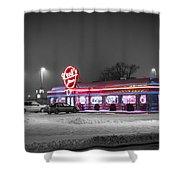 Kroll's Diner Mandan Shower Curtain
