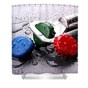 Kron Cork Shower Curtain