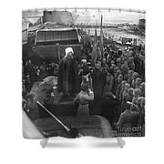 Kronstadt Mutiny, 1921 Shower Curtain