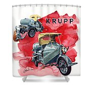 Krupp Street Sweeper Shower Curtain