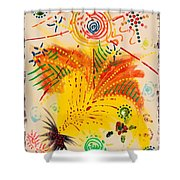 Krutika Shower Curtain