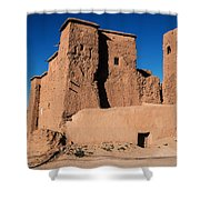 Ksar In The Dades Valley Shower Curtain
