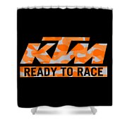 Ktm Camouflaje Shower Curtain