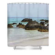 Kua Bay 13 Shower Curtain