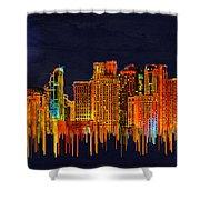Kuala Lumpur Shower Curtain