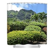 Kualoa Beauty Shower Curtain
