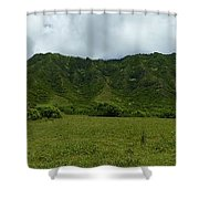 Kualoa Panorama Shower Curtain