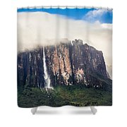 Kukenan Waterfall Shower Curtain