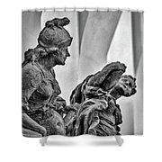 Kuks Statues - Czechia Shower Curtain