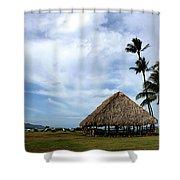 Kukulu Hale Kahului Maui Hawaii Panorama Shower Curtain