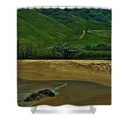 Kula'ili'i Beach Shower Curtain