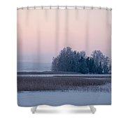 Kulovesi 4 Shower Curtain