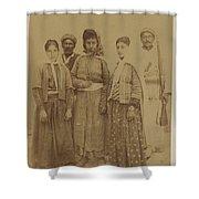 Kurdish Pheasants Shower Curtain