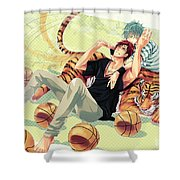 Kuroko's Basketball Shower Curtain