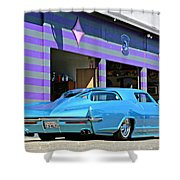 Kustom On The Riviera  Shower Curtain