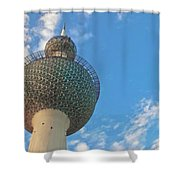 Kuwait Towers Shower Curtain
