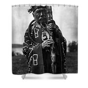 Kwakiutl Chief, C1914 Shower Curtain
