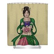 Kwan Yin Shower Curtain