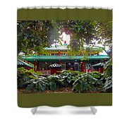Kwon Yin Temple 5 Shower Curtain