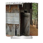 Kyburz Barn 3 Shower Curtain