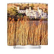 Kylemore Abbey, County Galway Shower Curtain