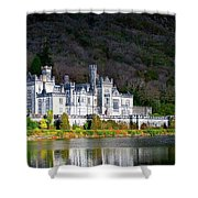 Kylemore Abbey Shower Curtain
