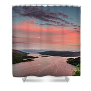 Kyles Of Bute In Twilight Shower Curtain