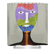 Kyliv Shower Curtain