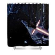 Kylo-ren Shower Curtain