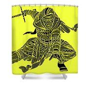 Kylo Ren - Star Wars Art - Yellow Shower Curtain