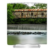 Kymulga Covered Bridge  1864 Shower Curtain