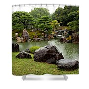 Kyoto Garden  Shower Curtain