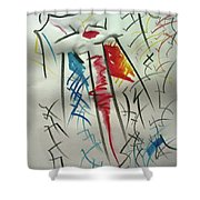 L-i Shower Curtain