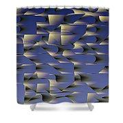 l13-A5DEE8-3x2-1500x1000 Shower Curtain