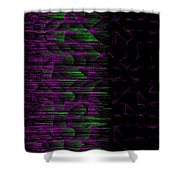 l14-D400D4-3x3-1200x1200 Shower Curtain
