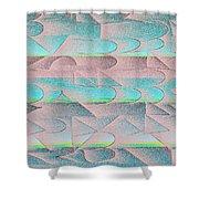 l15-9D9ED9-3x2-1800x1200 Shower Curtain