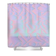 l15-BFA5FF-3x3-1800x1800 Shower Curtain