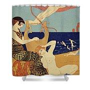 La Bague Symbolique Shower Curtain