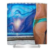 La Bailarina Shower Curtain