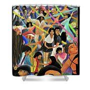 La Bamba Shower Curtain