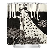 La Beale Isolde Shower Curtain