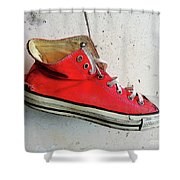 The Artists Boot Shower Curtain