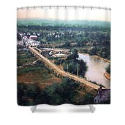 La Center Wa Circa 1915 Shower Curtain