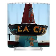 La Cita In Tucumcari On Route 66 Nm Shower Curtain