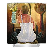 La Coqueta Shower Curtain