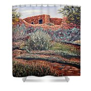 La Cueva New Mexico Shower Curtain