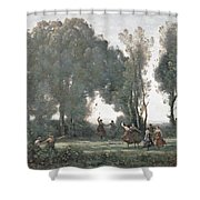 La Danse Des Nymphes Shower Curtain