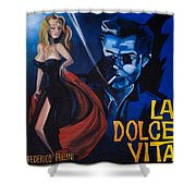 La Dolce Vita Shower Curtain